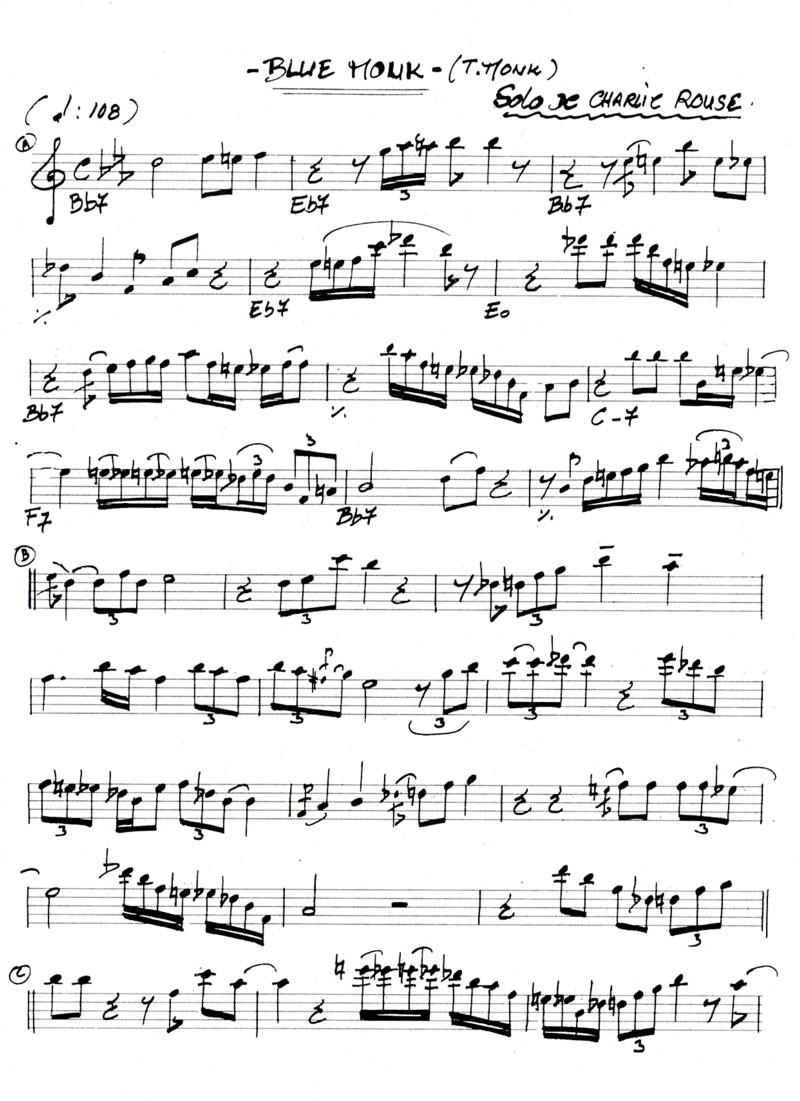 partitions jazz gratuites pour saxophone