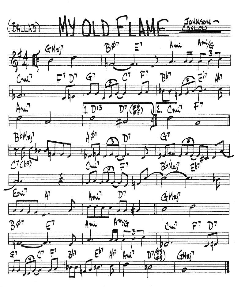 Index Of Standards Jazz